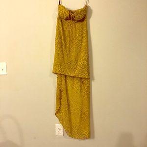 Cheetah print gown